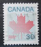 Poštovní známka Kanada 1982 Javorový list Mi# 831 A