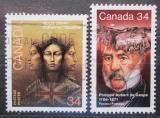 Poštovní známky Kanada 1986 Osobnosti Mi# 992-93