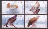 Poštovní známky Moldavsko 2007 Ptáci Mi# 590-93 Kat 8€