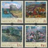 Poštovní známky Moldavsko 2015 Umění Mi# 919-22 Kat 11€