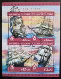 Poštovní známky Šalamounovy ostrovy 2016 Plachetnice Mi# 4210-13 Kat 14€