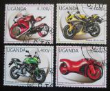 Poštovní známky Uganda 2012 Motocykly Mi# 2896-99 Kat 13€