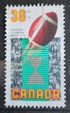 Poštovní známka Kanada 1987 Rugbyový míč Mi# 1068