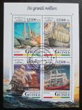 Poštovní známky Guinea 2018 Plachetnice Mi# 12830-33 Kat 20€