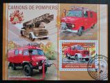 Poštovní známka Togo 2010 Hasičská auta Mi# Block 552 Kat 12€