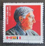 Poštovní známka Kanada 2010 Roméo Le Blanc, politik Mi# 2616