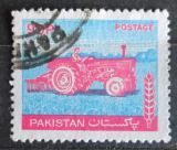 Poštovní známka Pákistán 1978 Traktor Mi# 474