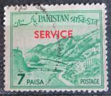 Poštovní známka Pákistán 1961 Průsmyk Khyber přetisk, úřední Mi# 87