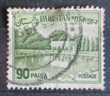 Poštovní známka Pákistán 1962 Zahrady Shalimar, Lahore Mi# 147