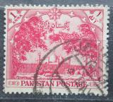 Poštovní známka Pákistán 1954 Mešita Badshahi Mi# 67