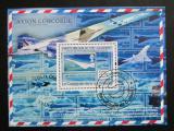 Poštovní známka Guinea 2009 Concorde Mi# Block 1764 Kat 10€