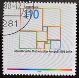 Poštovní známka Německo 1998 Matematický kongres Mi# 2005