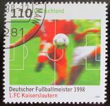 Poštovní známka Německo 1998 1.FC Kaiserslautern Mi# 2010