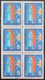 Poštovní známky Německo 1970 Svářeč, šestiblok Mi# 629