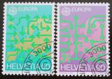 Poštovní známky Švýcarsko 1988 Evropa CEPT Mi# 1370-71