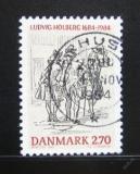 Poštovní známka Dánsko 1984 Ludvig Holberg,spisovatel Mi# 817