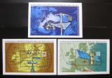 Poštovní známky DDR 1972 Kongres meteorologie Mi# Block 34-36 Kat 7.50€
