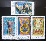 Poštovní známky DDR 1972 Výstava Interartes Mi# 1785-88