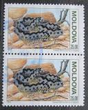 Poštovní známky Moldavsko 1993 Zmije obecná pár Mi# 55 Kat 5€
