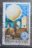 Poštovní známka Pobřeží Slonoviny 1964 Den meteorologie Mi# 266