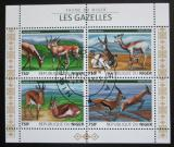 Poštovní známky Niger 2015 Gazely Mi# 3815-18 Kat 12€