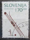 Poštovní známka Slovinsko 1995 Lyže Mi# 125
