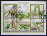 Poštovní známky Komory 2009 Felsuma Mi# 2346-51 Kat 10€
