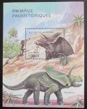 Poštovní známka Guinea 1997 Prehistorická fauna Mi# Block 517