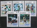 Poštovní známky Kongo Dem., Zair 1984 LOH Los Angeles Mi# 861-65