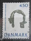 Poštovní známka Dánsko 1992 Archeologické nálezy, tanečnice Mi# 1019