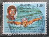 Poštovní známka Srí Lanka 1999 Plavání Mi# 1238