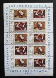 Poštovní známky Rumunsko 1975 Umění, květiny Mi# 3258-59 Bogen Kat 12€