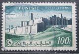 Poštovní známka Tunisko 1954 Městské hradby, Monastir Mi# 402