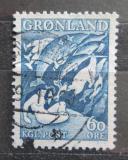 Poštovní známka Grónsko 1957 Grónské báje Mi# 39