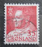 Poštovní známka Grónsko 1964 Král Frederik IX. Mi# 54