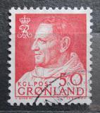 Poštovní známka Grónsko 1965 Král Frederik IX. Mi# 65