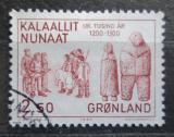 Poštovní známka Grónsko 1983 Dřevěné panenky Mi# 143