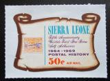 Poštovní známka Sierra Leone 1969 Poštovní historie Mi# 447