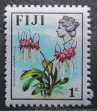Poštovní známka Fidži 1975 Cirrhopetalum umbellatum Mi# 330