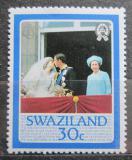 Poštovní známka Svazijsko 1986 Královská rodina Mi# 500