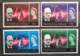 Poštovní známky Tristan da Cunha 1966 Winston Churchill Mi# 92-95 Kat 9€