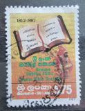 Poštovní známka Srí Lanka 1987 Společnost bible Mi# 802