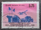 Poštovní známka Srí Lanka 1988 Dopravní prostředky Mi# 843
