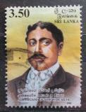 Poštovní známka Srí Lanka 2000 Aluthgamage Simon da Silva, spisovatel Mi# 1275