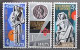 Poštovní známky Malta 1968 Konference FAO Mi# 383-85