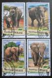 Poštovní známky Togo 2017 Sloni Mi# 7954-57 Kat 14€