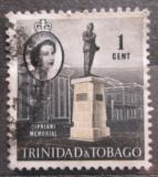 Poštovní známka Trinidad a Tobago 1960 Památník Cipriani, Port of Spain Mi# 172