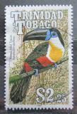Poštovní známka Trinidad a Tobago 1990 Tukan bělolící Mi# 615