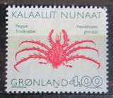 Poštovní známka Grónsko 1993 Neolithodes grimaldii Mi# 231