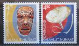 Poštovní známky Grónsko 2002 Kulturní dědictví Mi# 379-80